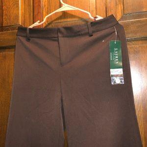 NWT Ralph Lauren Brown Hillside Pants, Size 6P
